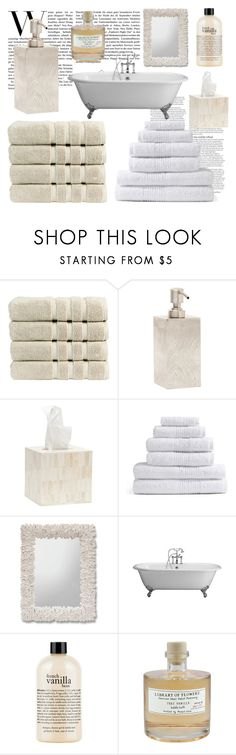 """""""Relax and Soak in the Bubbles"""" by soleil-style ❤ liked on Polyvore featuring beauty, ASOS, Christy, Pigeon & Poodle, philosophy and Library of Flowers"""