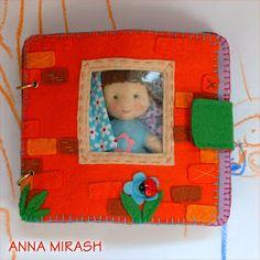 Dollhouse Quiet Book, love the window