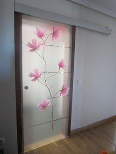 P Wardrobe Design Bedroom, Luxury Bedroom Design, Bedroom Furniture Design, Glass Design, Door Design, Wall Design, Glass Wardrobe, Pink Bedroom Decor, Unique House Design
