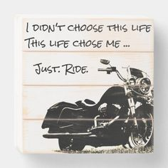 Just Ride Motorcycle Slat Wood Box Wall Art Decor   bike ride quotes, biker babe lifestyle, motorcycle riding quotes #bikelife #bikesoul #bulletrider, 4th of july party