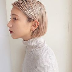 Canapés of long hairstyles Bob; It is, in the first place, among the hair styles that all ladies love very much. Canapés of long bob… Continue Reading → Cute Bob Hairstyles, Haircuts For Wavy Hair, Try On Hairstyles, Haircut For Thick Hair, Elegant Hairstyles, Pelo Midi, Short Cropped Hair, Crop Hair, Bobs For Thin Hair