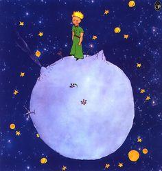 """le petit prince : """" et mon pays c'est une étoile ! """""""