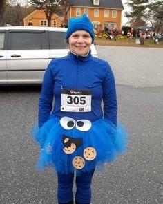 Cookie Monster Running Gear, Running Women, Running Outfits, Diy Costumes, Costume Ideas, Running Magazine, Running Costumes, Just For Fun, Cookie Monster