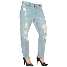 Only Jeans Tonni Boyfriend Destroyed