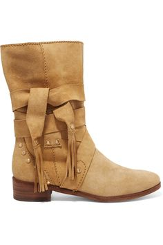 See by Chloé | Suede ankle boots | NET-A-PORTER.COM