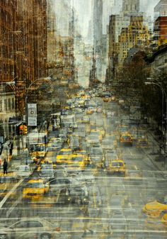 New York By Stephanie Jung on Behance #digital #art
