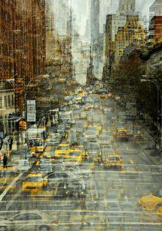 New York By Stephanie Jung on Behance #digital #art