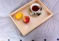 wooden tray, unfinished breakfast tray, serving tray, organizer, bedroom, kitchen, Scandinavian style, unpainted, plain, eco, desk organizer