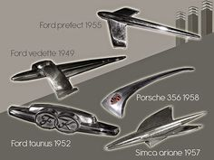 Just a car guy : Hood ornament identification guide, if it ain't here, don't ask me. I don't know