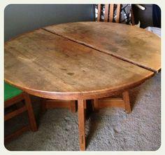 furniture facelift without refinishing wood - Refinishing Wood Table