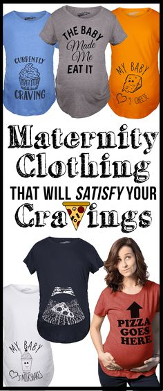 512210d36 Maternity clothing that will satisfy your Cravings, because momma needs to  eat! Funny Pregnancy