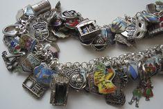 Vintage Charm Bracelet Collection - PIB Travel 2010