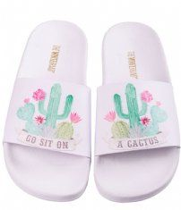 The White Brand Flip flops Cactus white Girls Skechers, White Brand, Furla, Beautiful Shoes, Flip Flops, Slippers, Cute Outfits, Michael Kors, Sandals