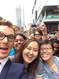 TIFF 2014: The Best Celebrity Red Carpet Selfies (PHOTOS)
