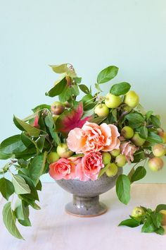 Naked Bouquet - fruits and flowers DIY- Tulipina.com