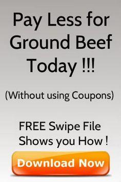 Pay Less for Ground Beef Today - Click to download Perfect Hamburger, Hamburger Buns, Hamburger Patties, Hamburger Recipes, Herb Butter, Garlic Butter, Beef Burger Patty Recipe, Bacon Wrapped Burger, Red Wine Reduction