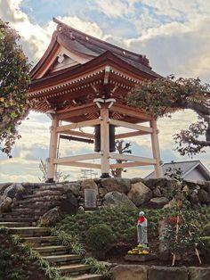 Shōjō-jiTemple's Bell. KogaCity, in Ibaraki Prefecture, Japan. Photography by photographer Rekisha no tabi of Flickr