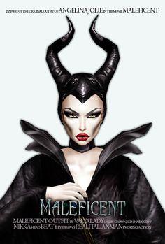 being Maleficent... just for fun #imvu #valyalady