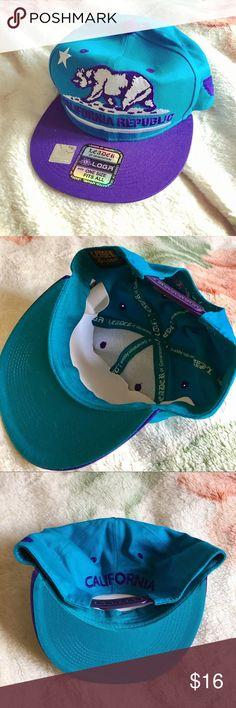 *California Republic* Adjustable Snapback Hat New & Ready To Ship Blue/Purple Adjustable Unisex  #snapback #californiarepublic #californiarepublichat #californiarepublicsnapback #california #californiahat #californiasnapback #casual #cool #streetwear #unisexhat #unissxaccessories #womenshats #womensaccessories #menshata #mensaccessories #unisexaccessories #fashion #summer #summerstyle #summerfashion #sunny #hiphop #bluesnapback #purple #purpleandblue #purplehat #purplesnapback California…