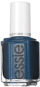 "Essie Cashmere Matte ""Spun in Luxe"" : Sophisticated Matte Blue-Black Matte Nail Lacquer"