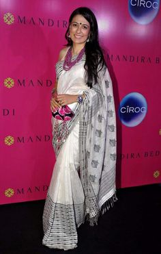 Vogue India's Best Dressed in South Indian Sarees ~ Mini Mathur