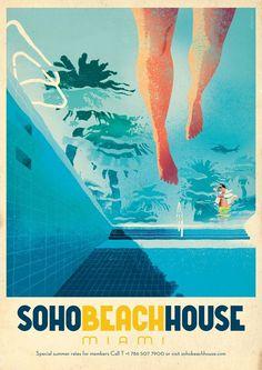 Soho Beach House Miami by Jonas Bergstrand