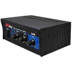 Pyle Home PCA2 80-Watt Stereo Mini Power Amplifier  Pyle  $39.99    http://amzn.to/Usu1bj