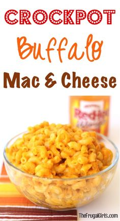 Crockpot Buffalo Mac and Cheese Recipe!