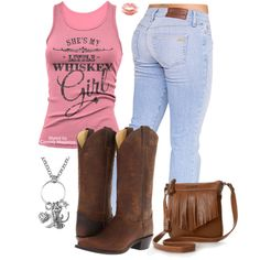 Whiskey Girl. Cowgirl fashion