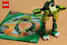 New LEGO Mixels 41518 Glomp Flash Stop Motion build animation