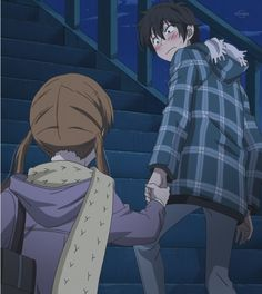 Shizuku and Haru My Little Monster #anime #manga