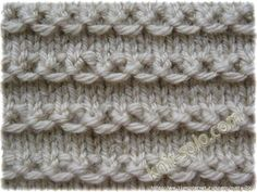 Images in 's post Knitting Stiches, Knitting Videos, Arm Knitting, Knitting Charts, Knitting Needles, Knitting Patterns Free, Knit Patterns, Knitting Projects, Crochet Stitches