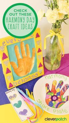 3 craft activities for an harmonious Harmony Day!