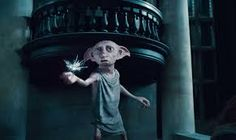 This is Dobby he's a very good friend from harry, Ron and Hermione. He tried to safe Ron, Harry and hermione but he got killed by bellatrix black.