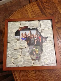 Mission trip shadow box. After taking a mission trip to Africa, I completed this shadow box. The frame is bible verses with the word JOY highlighted in each one.