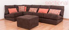Nuestra sala Sectional, ideal para la #decoración del hogar u oficina #futontanoshii