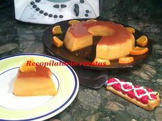 Recopilatorio de recetas : Flan de naranja thermomix