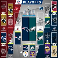 2017 Playoff standings