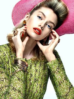 Stella maxwell for Vogue Brazil