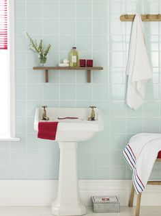 olive green bathroom wale tiles compliments the yellow flower and