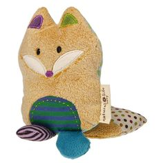 Love You Forever Fox Infant Rattle from Natural Life Baby Collection by Mary Meyer. #baby #fox #foxes
