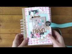 Тревел бук о любви. Миниальбом про свадебное путешествие.Travel book. Honeymoon - YouTube