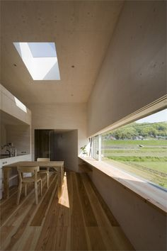 Crazy cool window Rustic House, #Fukuyama-City, 2010 by UID Architects & associates  #architecture