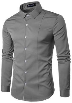 3629cef9e8 2017 Brand New Mens Dress Shirt Fashion Spring Turn-down Collar Long Sleeve  Work Shirts Male Solid Casual Slim Fit Tops Camiseta