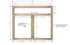 Diy kitchen sink cabinet ana white Ideas for 2019 Building Kitchen Cabinets, Kitchen Base Cabinets, Kitchen Cabinet Storage, Built In Cabinets, Cabinet Decor, Diy Cabinets, Cabinet Furniture, Furniture Plans, Kitchen Furniture