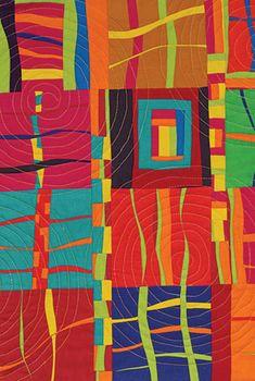 Art Quilt 101 Class at the Folk School