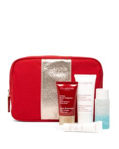 Gift with any $75 Clarins purchase!