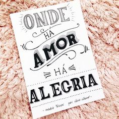 """Onde há amor, há alegria"" ❤ . . . . . . . . #bomdia #boasvibes #ondeháamorháalegria #amor #focoforçaefé #pins #sejagrato #gratidaopelavida #frases #tumblr"
