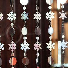 Decoration - Sparkling Sequins Laser Curtain Set