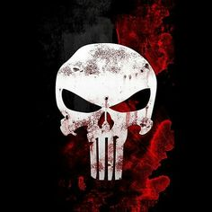 The Punisher War Zone - mike's bday cake -- to stencil with frosting The Punisher, Punisher Tattoo, Punisher Logo, Punisher Skull, Wallpaper Kawaii, Black Phone Wallpaper, Skull Wallpaper, Avengers Wallpaper, Marvel Avengers